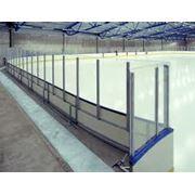 Оснащение хоккейных площадок фото