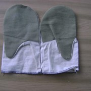 Пошив рабочих рукавиц фото