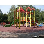 Установка МАФ ограждений детских городков (конфигурация любая в том числе под заказ). фото
