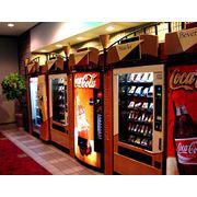 Установка и обслуживание самых современных торговых автоматов. фото
