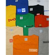 Бизнес сувенир фирменная футболка фото