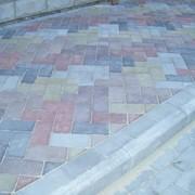 Тротуарная плитка вибролитая Днепропетровск фото