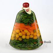 Бутыль декоративная с консервир. овощами (749257) фото