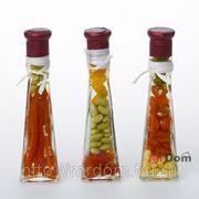 Бутыль декоративная с консервир. овощами h=16.25 vob1 (749817) фото