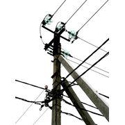 Строительство высоковольтных линий электропередач фото