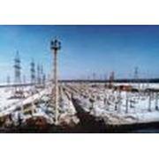 Транспортировка электрической энергии по высоковольтным электросетям фото