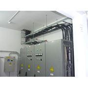 обслуживание электроснабжения. фото