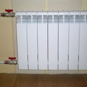 Подключение радиаторов отопления фото