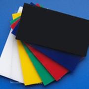 Полимерный лист АБС фото