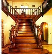 Лестницы деревянные фото
