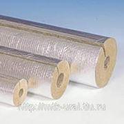 Цилиндры и полуцилиндры теплоизоляционые с покрытием алюминиевой фольгой 100-1000.64.30 фото