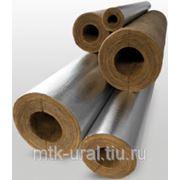 Цилиндры и полуцилиндры теплоизоляционые с покрытием алюминиевой фольгой 100-1000.108.30 фото