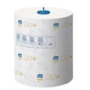 Tork Matic Premium 290016 полотенца с внеш. отбором белые в рулонах 2-сл 100м (х6) фото