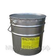 Мастика битумная МБУ 16 кг фото