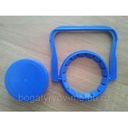 Крышка с ручкой ПЭТ 5л. ( синяя) фото