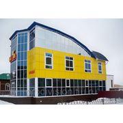 Монтаж вентилируемого фасада (металокассеты) фото