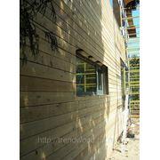 Вентилируемые фасады из лиственницы. фото