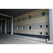 Навесной вентилируемый фасад (Керамогранит) фото