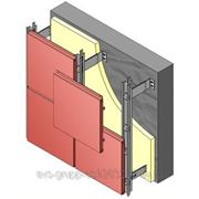 Алюминиевая подсистема для алюминиевых композитных панелей фото