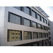 Навесной вентилируемый фасад (Композитные панели) фото