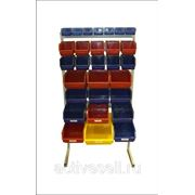 Стеллаж для пластиковых ящиков (различные конфигурации) фото