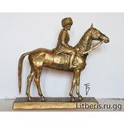 Кабинетная скульптура из бронзы фото