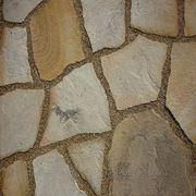 Натуральный камень песчаник жёлто-коричневый фото