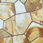 Натуральный камень песчаник светло-жёлтый фото