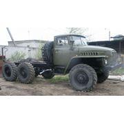 Автомобиль грузовой военный УРАЛ-375 фото