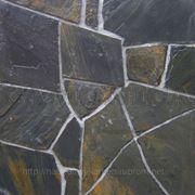 Камень для облицовки сланец черный уральский фото