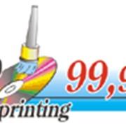 Печать на CD дисках фото