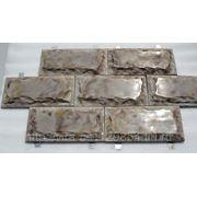 Цокольная плитка с креплениями Рыбинский камень фото