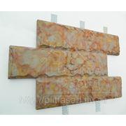 Облицовочный камень, монтаж без клея и раствора. фото