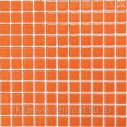 Стеклянная мозаика Orange glass 300*300 фото