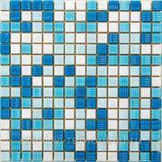 Стеклянная мозаика Aqua 200 ( на бумаге) 327*327 фото