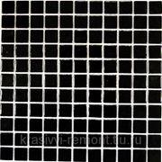 Стеклянная мозаика Black glass 300*300 фото