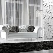 Гипсовые 3d панели из натурального материала,легкие,готовые к монтажу