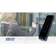 Цифоровая кодовая панель и безконтактная кнопка для активации дверей в одном продукте фото