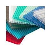 Сотовый поликарбонат kinplast 2,1х6м под теплицы толщина 10,0 мм (Бронза, синий, зелёный, красный, жёлтый, бирюза, белый(опал), оранжевый, фото