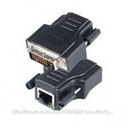SC&T DE01ERK SC&T DE01ERK Комплект для передачи DVI-сигнала по кабелю витой пары CAT5e/6, состоит из пассивного передатчика DE01E (DVI-I) и активного