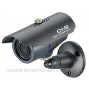 """CNB XBL-21S Видеокамера всепогодная, цветная, матрица 1/3"""", 600твл, f=3.8 мм, ИК-подстветка до 15м, IP-66, 12 В. фото"""
