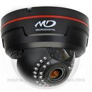 """Microdigital MDC-7220TDN-30 Видеокамера купольная,цветная, День/Ночь с вариофокальным объективом, SONY 1/3"""" Super HAD II CCD, 600ТВЛ (Цвет) /"""