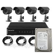 Комплект видеонаблюдения для дачи/дома фото