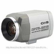 """CNB ZBN-21z27F Видеокамера корпусная, цветная, 27x кратное цифровое увеличение, вариофакальный объектив f=3.6-97,2 мм, """"день-ночь"""", матрица фото"""