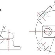 Опорный зажим для одного провода (типа ОЗП) фото