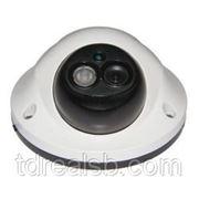 Видеокамера цв. JLC-DPF540IR (3.6мм) бел, 540ТВЛ, 0.0Лк, купол, ИК-подсветка фото