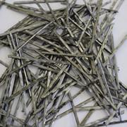 Фибра стальная 35 рубленная из листа фото