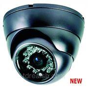 Купольная вандалозащищенная видеокамера Spymax SCD-742 фото