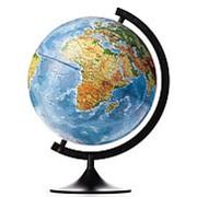 Globen Глобус Земли физико-политический, d-320 мм фото