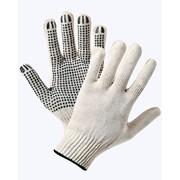 Перчатки х/б 5-ти нитка с ПВХ фото